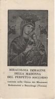 Santino Antico Madonna Del Perpetuo Soccorso Da Bussolengo - Verona - Religion & Esotérisme