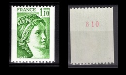 FRANCE 1979 -  Y.T. N° 2062 - NEUF** / CHIFFRE - Ungebraucht