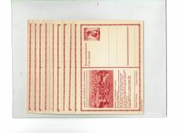FAL14 - AUTRICHIE SERIE DE 11 CARTES POSTALES NEUVES DE LA SERIE PAYSAGES DE 1951/55 MICHEL P 346 - Entiers Postaux