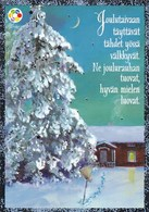Postal Stationery - Birds - Bullfinches - Winter Landscape - Cancer Foundation - Suomi Finland - Postage Paid - RARE - Finlandia