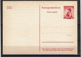 FAL14 - AUTRICHE  2 CARTES POSTALES NEUVES  MICHEL P 342/344 - Entiers Postaux