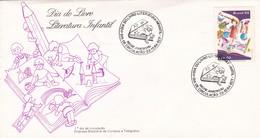 1984 COVER FDC BRAZIL- DIA DO LIVRO, LITERATURA INFANTIL. OBLITEREE RIO DE JANEIRO - BLEUP - Contes, Fables & Légendes