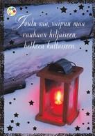 Postal Stationery - Birds - Bullfinches - Candle Votive - Cancer Foundation - Suomi Finland - Postage Paid - RARE - Ganzsachen