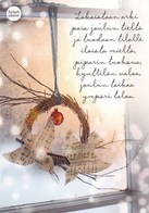 Postal Stationery - Birds - Bullfinches - Christmas Wreath - Cancer Foundation - Suomi Finland - Postage Paid - RARE - Finlandia