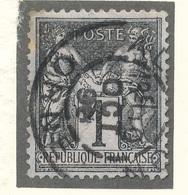 N°83 NUANCE ET OBLITERATION. - 1876-1898 Sage (Type II)