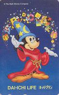 Télécarte Japon / 110-159998 - DISNEY - Cinema FANTASIA - Mickey Magie Japan Movie Phonecard Assu - Disney