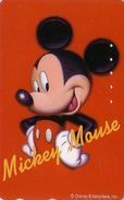 Télécarte Japon / 110-202156 - DISNEY - MICKEY MOUSE DAIICHI LIFE - Japan Phonecard Telefonkarte Assu - Disney