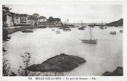 56)   BELLE ILE EN MER  - Le Port De Sauzon - Belle Ile En Mer