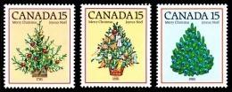 Canada (Scott No. 900-02 - Noël / 1981 / Christmas) [**] - 1952-.... Règne D'Elizabeth II