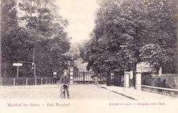 LUXEMBOURG - MONDORF-LES-BAINS - Unused - Entree Du Parc - Kutter Photo - Mondorf-les-Bains