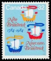 Canada (Scott No.1014 - Nouveau Brunswick / New Brunswick) [**] - 1952-.... Règne D'Elizabeth II