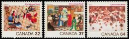 Canada (Scott No.1040-42 - Noë / 1984 / Christmas ) [**] S.rie / Set - 1952-.... Règne D'Elizabeth II