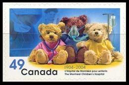 Canada (Scott No.2035 - Hopital Montréal Pour Enfants / Mtl Children Hospital) [**] Auto-collant / Self Adhesive - 1952-.... Règne D'Elizabeth II