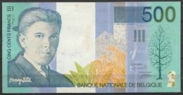 Billet 500 Francs Belge René Magritte UNC (légère Tache) - [ 2] 1831-... : Reino De Bélgica