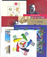 2018. Azerbaijan, Complete Year Set 2018, 21v + 18s/s, Mint/** - Azerbaïdjan