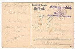 19525 - Du Camp De REGENSBURG - Covers & Documents