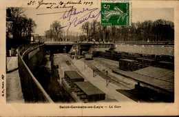78-ST-GERMAIN EN LAYE....LA GARE....CPA - St. Germain En Laye (Kasteel)