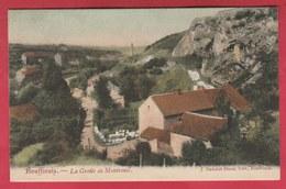 Bouffioulx - La Grotte De Montreuil ... Jolie Carte Couleur - 1906 ( Voir Verso ) - Châtelet