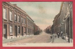 Bouffioulx - La Villette ... Rue ... Quartier - 1906 ( Voir Verso ) - Châtelet