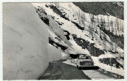 Suisse // Schweiz // Valais // Route Du Simlon En Hiver - VS Valais