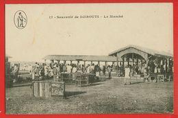 062 - DJIBOUTI - Le Marché - Gibuti