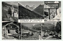 Suisse // Schweiz // Valais // Chandolin, Pension Du Chamois - VS Valais