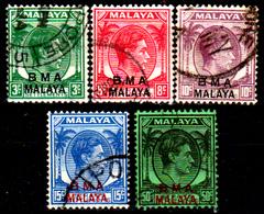 Straits Settlements-0110 - Emissione 1945 - Senza Difetti Occulti - - Malaya (British Military Administration)