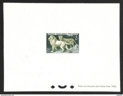 AEF-Epreuve De Luxe-Lion Et Lionne - A.E.F. (1936-1958)