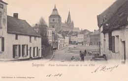 619 Soignies Place Guillaume Prise De La Rue D Ath - Soignies