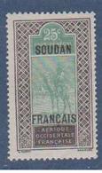 SOUDAN        N° YVERT   27    NEUF SANS CHARNIERES     ( Nsch   1/09 ) - Soudan (1894-1902)