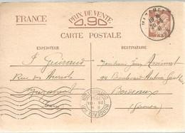 CARTE  POSTALE   MAZAMET  1941 - Enteros Postales