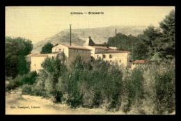 11 - LIMOUX - BRASSERIE - BIERE - CARTE TOILEE ET COLORISEE - Limoux