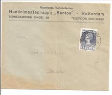 1923 Jubileum  20 Cent N.V.P.H.125. Rotterdam Santos - Periode 1891-1948 (Wilhelmina)