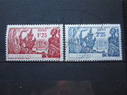 VEND BEAUX TIMBRES D ' ININI N° 29 + 30 , X !!! - Inini (1932-1947)