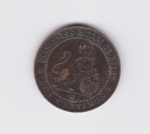 2 Centimos 1870 CM  TTB - [ 1] …-1931 : Reino