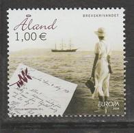 Aland Europa 2008 N° 294 ** Ecriture Lettre - 2008