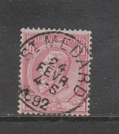 COB 46 Oblitération Centrale ST-MEDARD - 1884-1891 Léopold II
