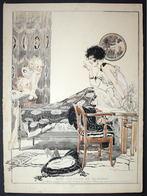 Une Histoire De Revenant - La Vie Parisienne Magazine Cover Art Deco - Non Classificati