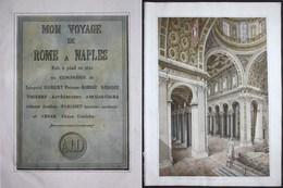 Mon Voyage De Rome à Naples Fait En Pied En 1821 En Compagnie De Léopold Robert Peintre, Barbot, Benois, Thier - Andere Sammlungen