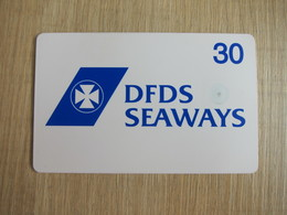 DFDS Seaways Chip Phonecard, 30 Units,white - Sweden