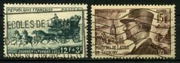 FRANCE       N° Y&T  919 Et 920  (o) - Usati