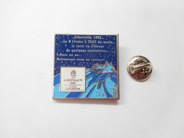 Beau Pin's , JO , Jeux Olympiques  Albertville 1992 , Club Coubertin , Non Signé - Olympic Games