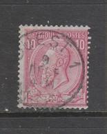 COB 46 Oblitération Centrale Ambulant OUEST 1 - 1884-1891 Léopold II