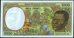 CENTRAL AFRICAN STATES {Republic Of Congo - C} 1.000 Francs 2000 AU P.102 Cg - Zentralafrikanische Staaten