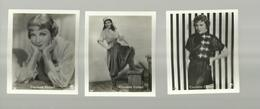 *3 X CLAUDETTE  COLBERT     * - Photographs