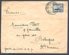 LETTRE EN PROVENANCE DE HUY - 1947 - OOSTENDE - DOVER - Lettres & Documents