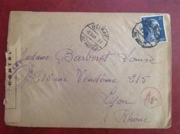 Weimar Pour Lyon Censure 1944 - Germania