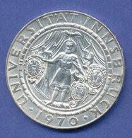 Österreich 50-Schilling Silber-Gedenkmünze 1970, 300 Jahre Universität Innsbruck - Austria