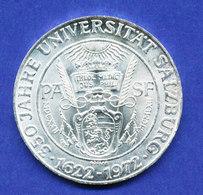 Österreich 50-Schilling Silber-Gedenkmünze 1972, Universität Salzburg - Austria