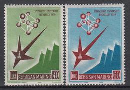 SAN MARINO - Michel - 1958 - Nr 590/91 - MH*/MNH** - Neufs